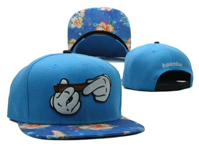 CAYLER & SONS Spacedout Blue Snapback Hat SF 0512
